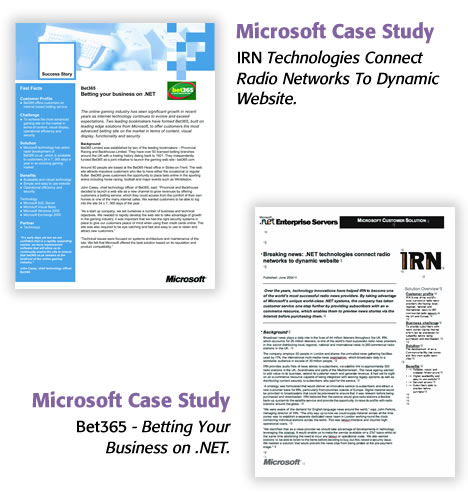 Microsoft Case Studies
